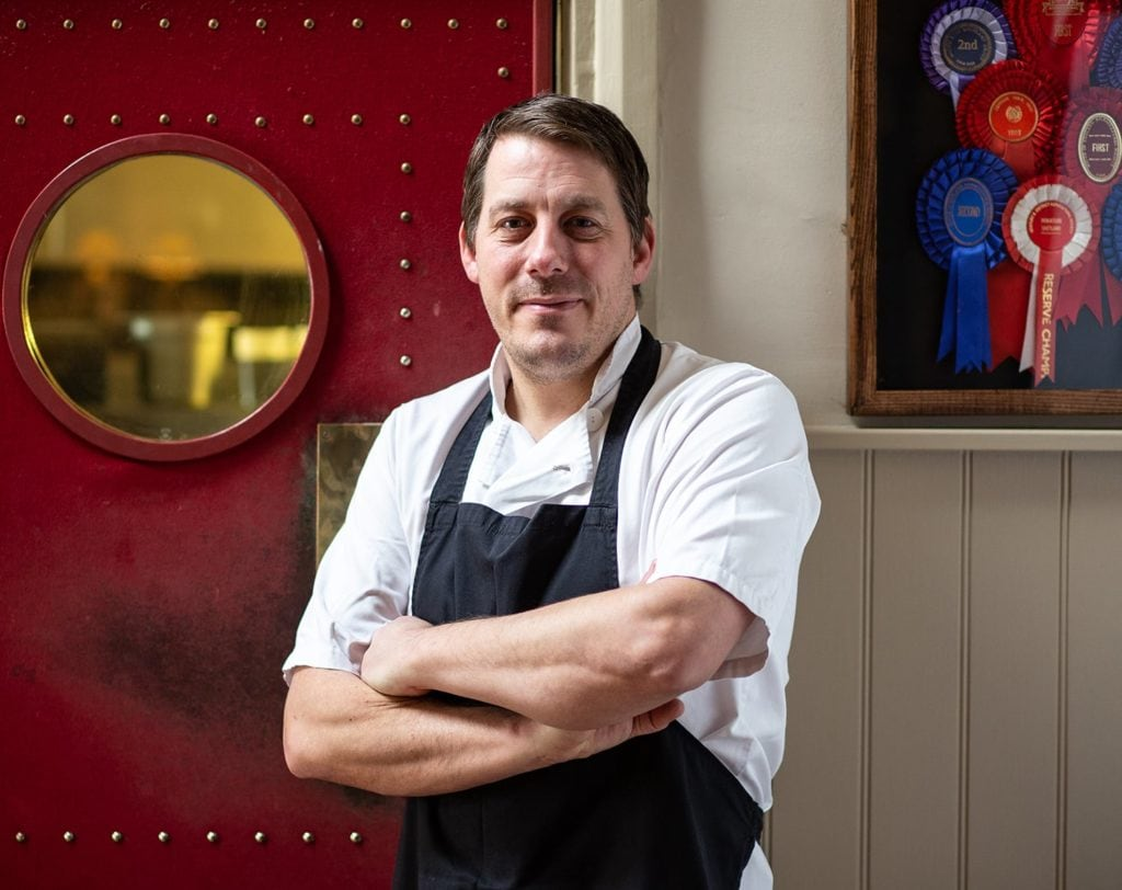 Simon Brazier, Head Chef